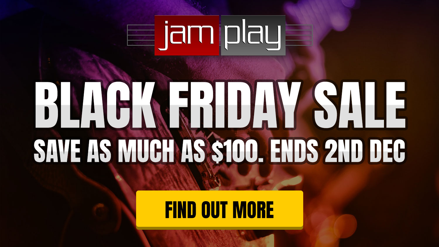 Black Friday Sale! Save up to $100! Ends 2nd Dec 2019